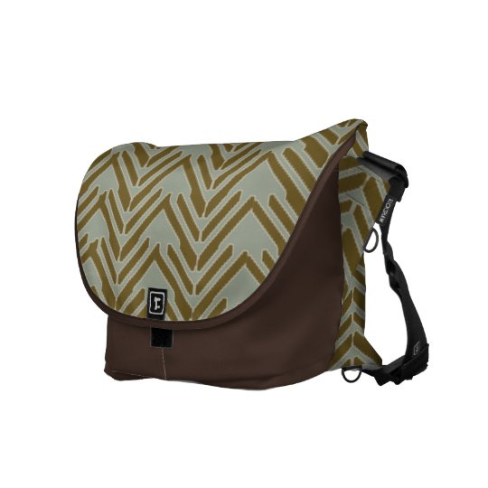 Broken Chevrons Courier Bags
