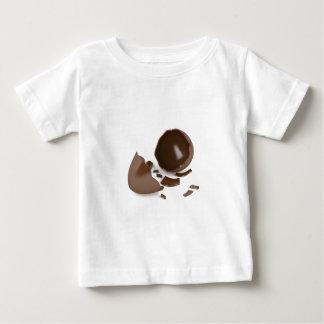 Broken chocolate egg baby T-Shirt