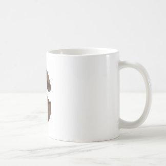 Broken chocolate egg coffee mug