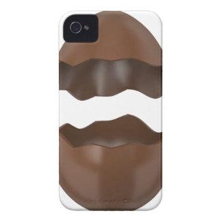 Broken chocolate egg iPhone 4 Case-Mate cases