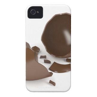 Broken chocolate egg iPhone 4 cover