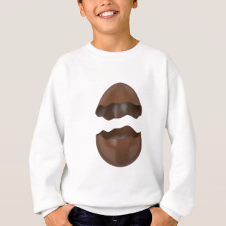 Broken chocolate egg sweatshirt