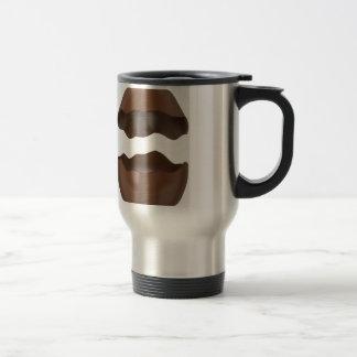 Broken chocolate egg travel mug