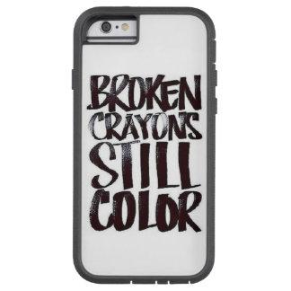 Broken Crayons Tough Xtreme iPhone 6 Case