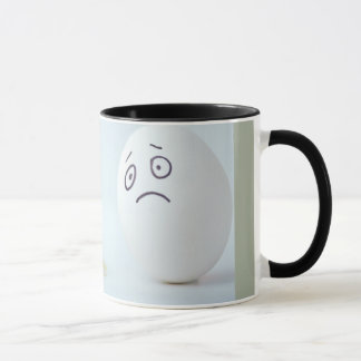 Broken eggs coffee mug