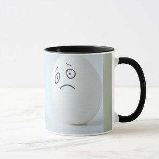 Broken eggs coffee mug