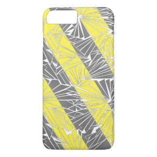 Broken Glass Diagonal Stripe Illustration iPhone 7 Plus Case