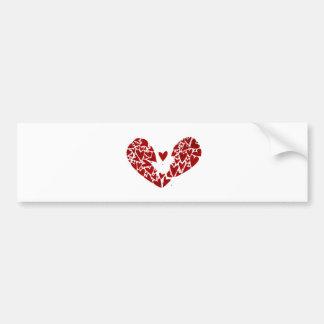 Broken Heart Attack Bumper Sticker