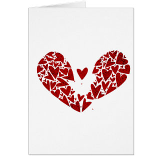 Broken Heart Attack Card