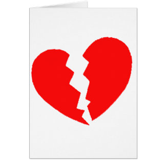 Broken Heart Card