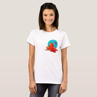 broken heart funny cartoon T-Shirt