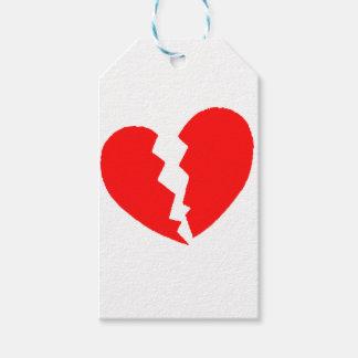 Broken Heart Gift Tags