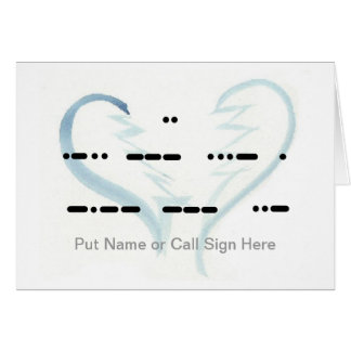 Broken Heart I Love You Personalize It Card