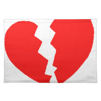 Broken Heart Placemat