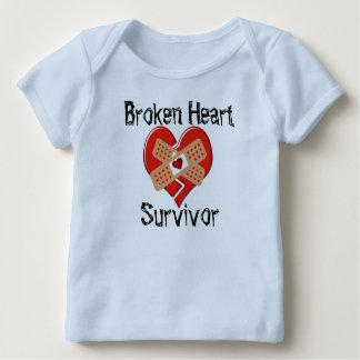 Broken Heart Survivor Lap T-Shirt