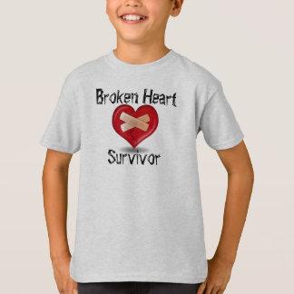 Broken Heart Survivor T Shirt