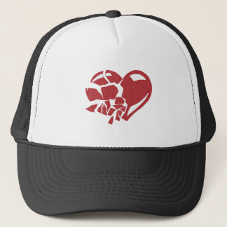 Broken Heart Trucker Hat