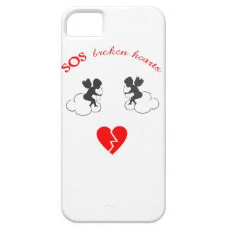broken hearts iphone case