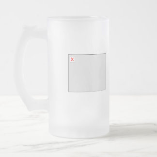 Broken Image HTML Code Frosted Glass Beer Mug