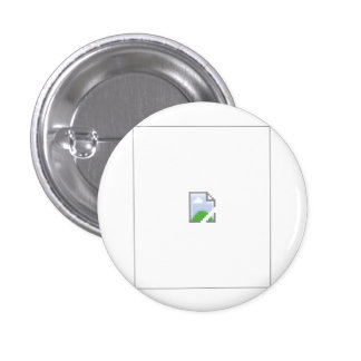 Broken Internet Image Icon 1 Inch Round Button