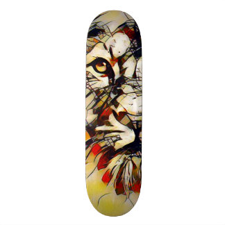 Broken Lion God Custom Pro Park Board Skateboard Deck
