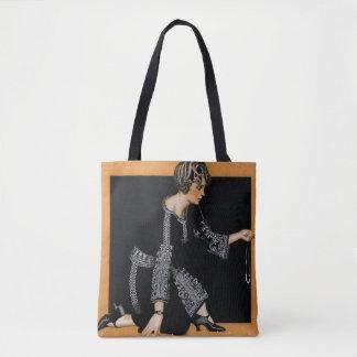 Broken Pearl Necklace Tote Bag