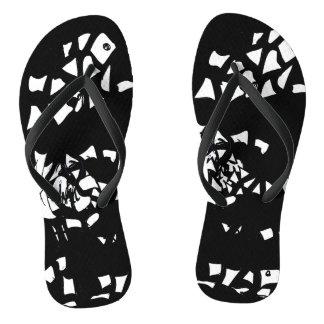 Broken Pieces Flip Flops