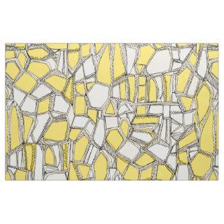BROKEN POP lemon Fabric