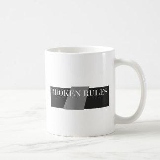 BROKEN RULES COFFEE MUG