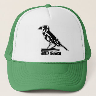 BROKEN SPARROW TRUCKER TRUCKER HAT