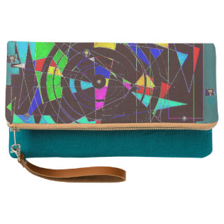 broken stained glass clutch