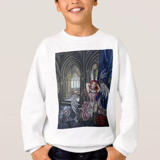 broken steampunk fairy art sweatshirt