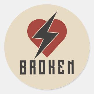 Broken Sticker