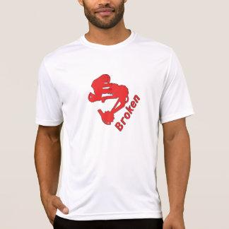 Broken Tech T-Red T-Shirt