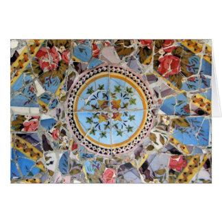 Broken Tile Mosaic Card