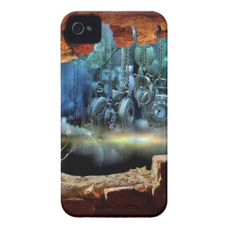 Broken wall view iPhone 4 Case-Mate cases