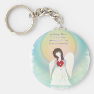 Broken Wing Angel Keychain