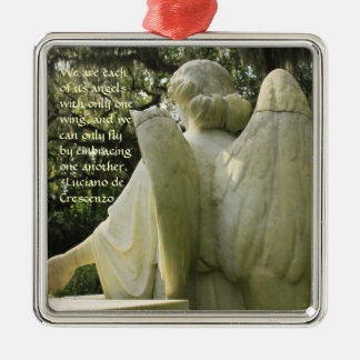 Broken Wing Angel Ornament