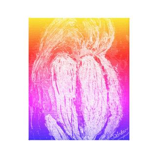 Brokenheart Canvas Print