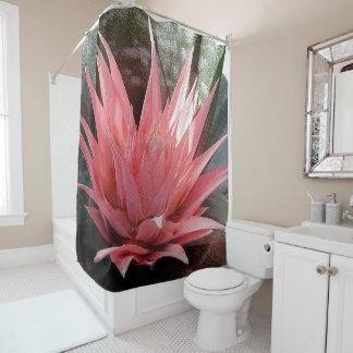 Bromeliad Flower Shower Curtain