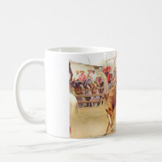 Bronc Busting Coffee Mug