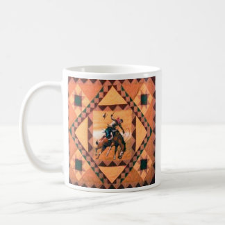 Bronc Rider Western Cowboy Mug