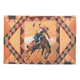 Bronc Rider Western Cowboy Pillowcase