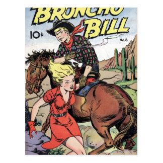 Broncho Bill Postcard