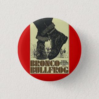 bronco bullfrog 1 inch round button