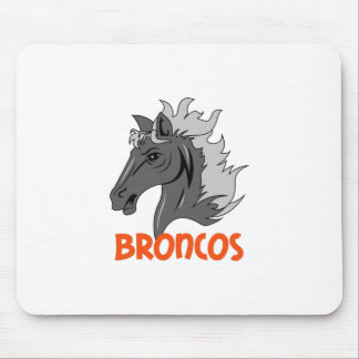 BRONCOS MOUSE PAD