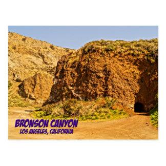 Bronson Canyon Los Angeles California Postcard