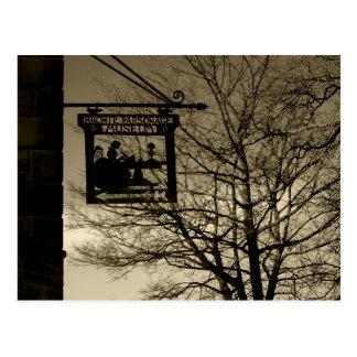 Bronte Parsonage Haworth - post card