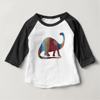 Brontosaurus Art Baby T-Shirt