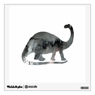 Brontosaurus Art Wall Sticker
